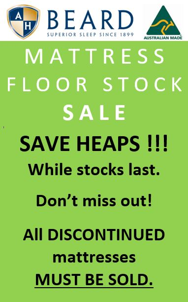 Mattress Floorstock Clearance Sale