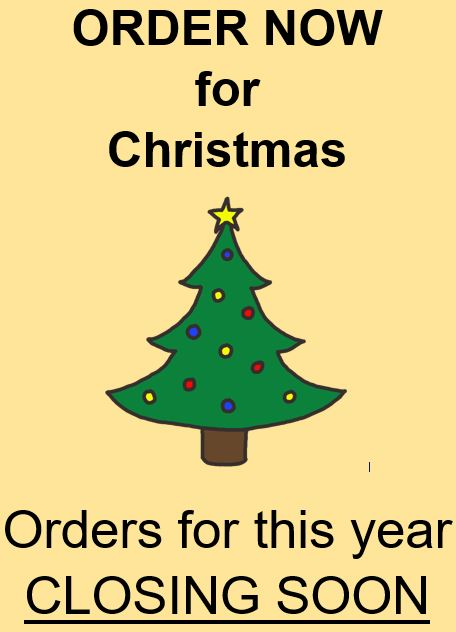 Order Now for Christmas 2016