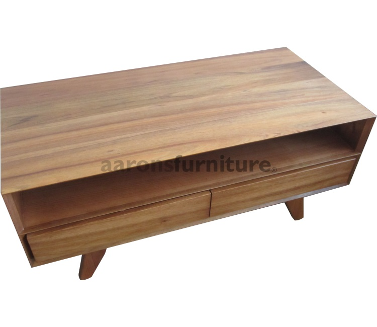 Reno Solid Acacia Wood Coffee Table: Coffee And Lamp Tables
