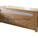 <center><b>ENTERTAINMENT UNIT</b></br>Drop Down Door</br>Select Tasmanian Oak