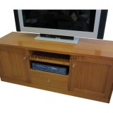 <center><b>CROMPTON Lowline</b></br>Select Tasmanian Oak</br>1600 wide</br>with drawer and doors