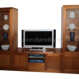 <center><b>CUSTOM 3 Piece Unit</b></br>Select Tasmanian Oak</br>2700 wide</br>with drawers and doors