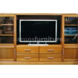 <center><b>2 Piece Unit</b></br>Select Tasmanian Oak</br>2400 wide</br>with drawers and doors