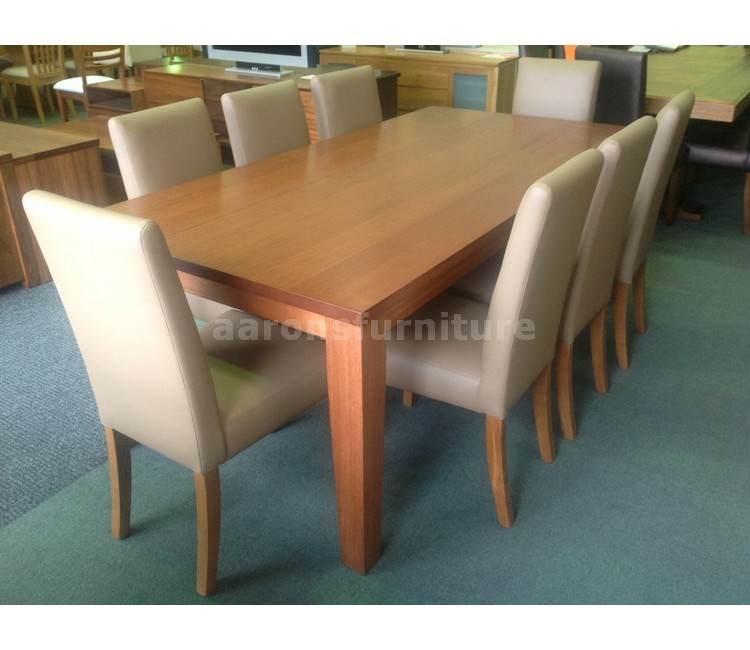 Clearance Aarons Furniture Tasmanian Oak Blackwood Spotted Gum Hard Wood Tables And
