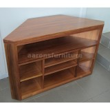 <center><b>CORNER LOWLINE</b></br>with custom shelving</br>Blackwood