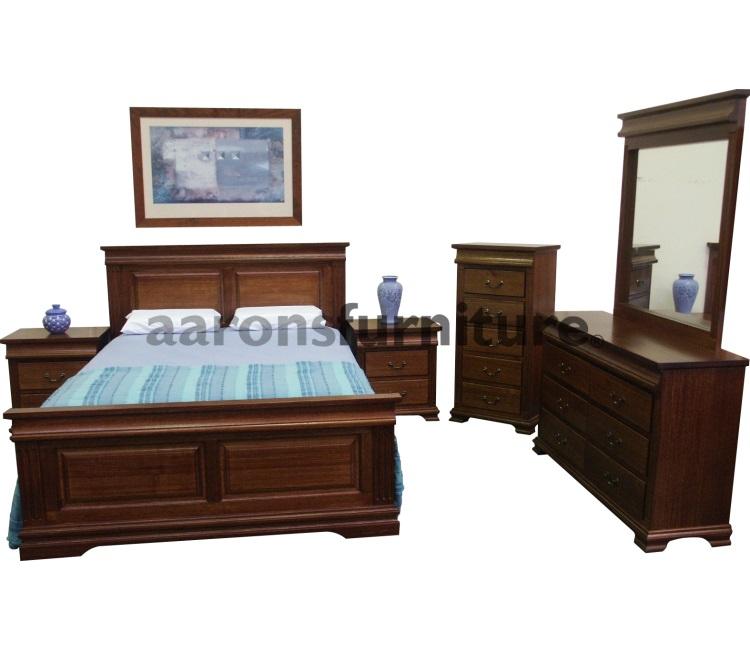 Bedroom Suites Aarons Furniture Floor Stock Sale Tasmanian Oak Blackwood Spotted Gum