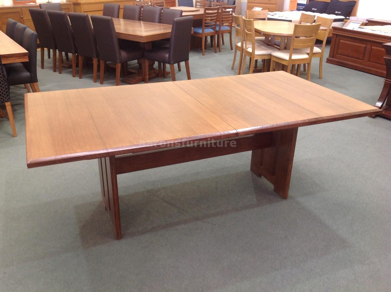 Dining aarons furniture tasmanian oak blackwood for 12 seater dining table sydney